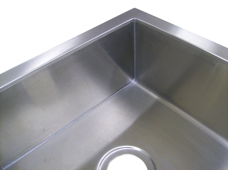 Undermount Corner Kitchen Sinks Stainless Steel : undermount kitchen sinks these square corner undermount kitchen sinks ...