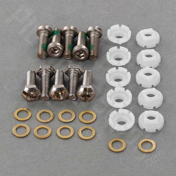 Fixing Sets 5 Each Includes 5 Hex Screws 5 Phillips Screws 10 Washers 10 Cup Washers
