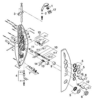 Aquatower 2000 parts diagram