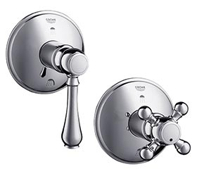 Grohe Geneva shower diverters