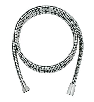 Grohe plastic handshower hose in chrome