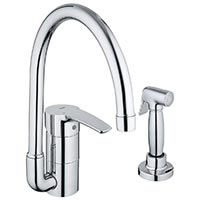 Parts For Eurostyle Series Kitchen Faucets. Grohe #33.980.001 In Chrome