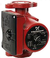example of a Grundfos 3 speed circulating pump