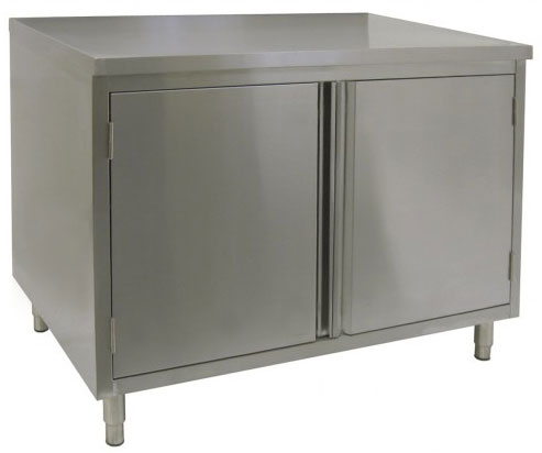 Restaurant Quality Enclosed Stainless Steel Base Tables