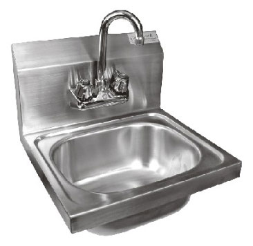 Quality Us Made Stainless Steel Hand Wash Sinks