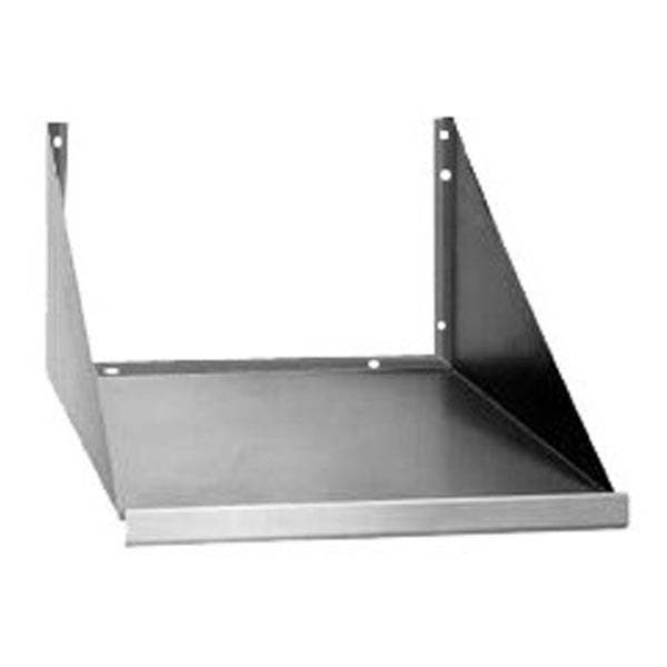 wall mount microwave shelf