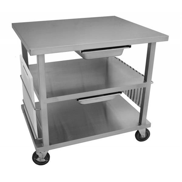 Stainless Steel Work Table Cart