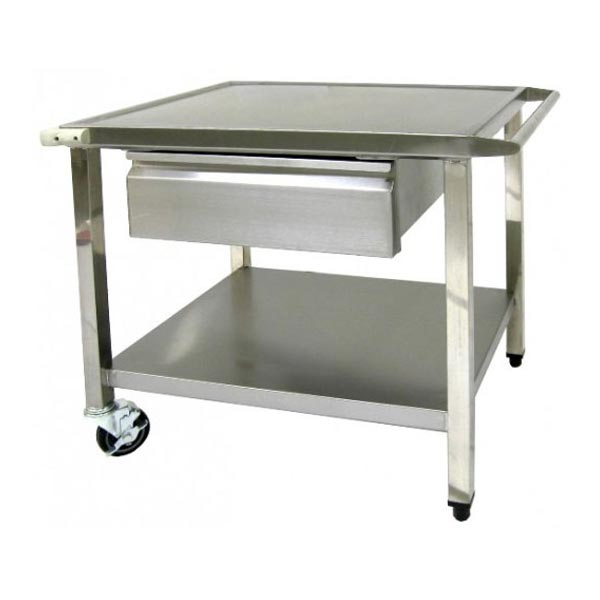 Single Drawer Mobile Work Table