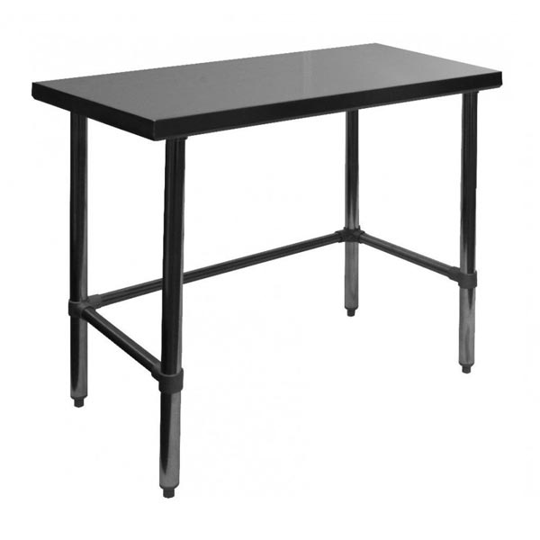 Restaurant Work Tables - Stainless steel open base work table