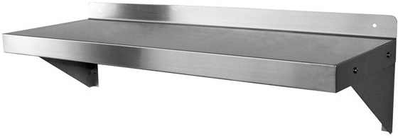 - Stainless Steel Restaurant Wallmount Shelving