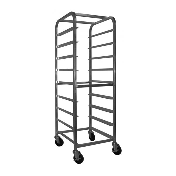 Dishwasher rack cart