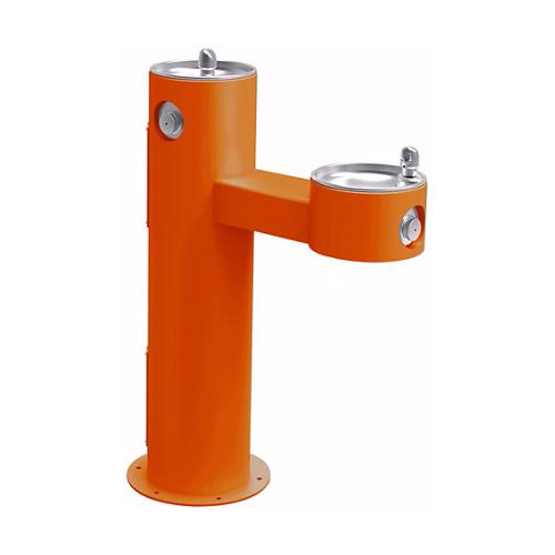 Orange drinking fountain 4420