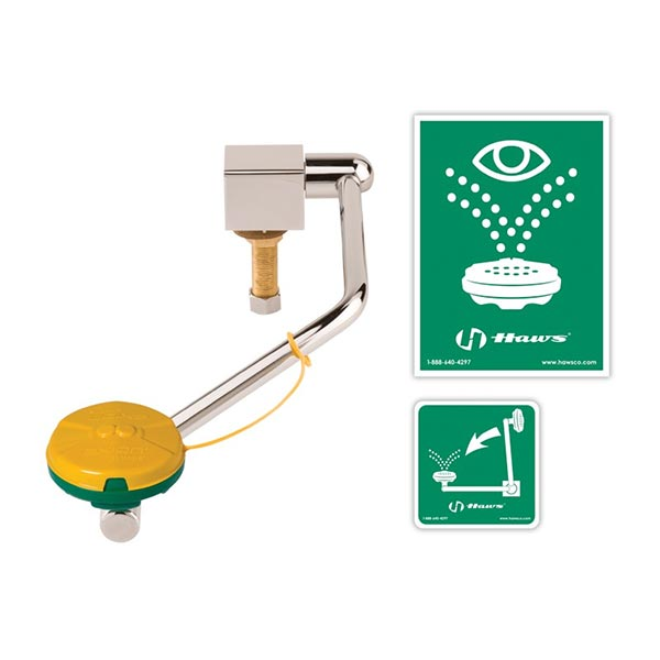 Haws emergency sink mount eye wash