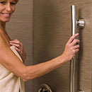 Wave grab bar by HealthCraft