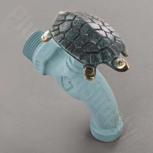 Example of turtle handled hose bibb