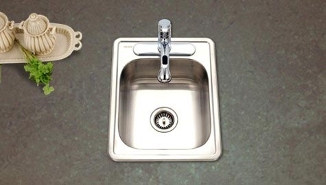 Superior Rectangular 22 Gauge Stainless Steel Sink   1722 7BS 1 ...
