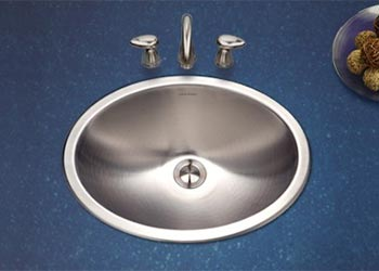 Houzer Opus Series CHT 1800 Stainless Steel Top Mount Bathroom Sink