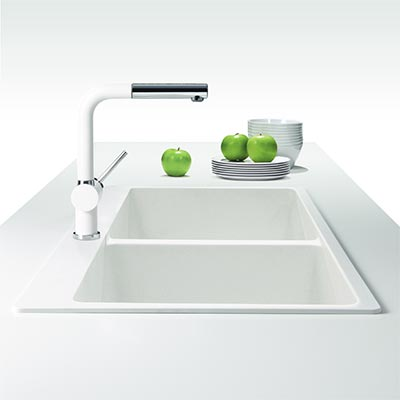 Houzer Quartztone Granite Composite Kitchen Sinks
