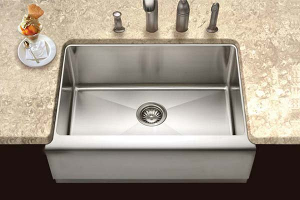 Houzer Apron Front Farmhouse Kitchen Sinks - Houzer kitchen sink