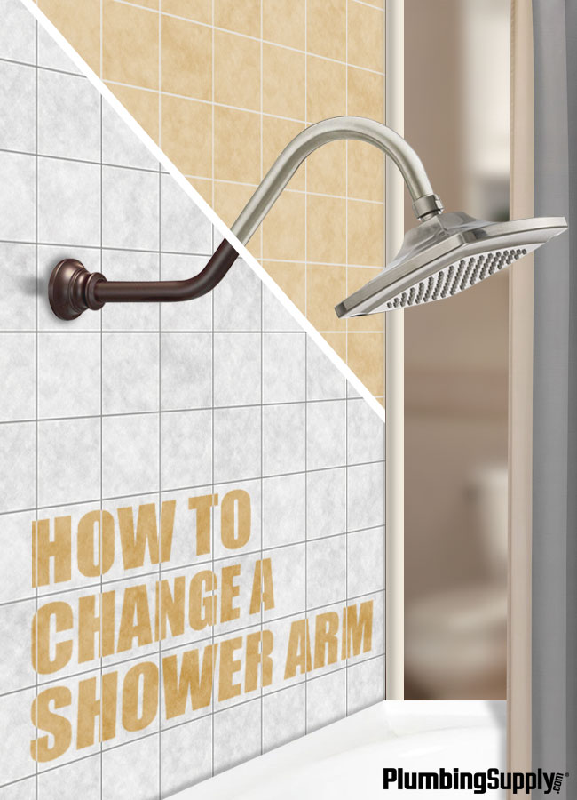 Learn how to quickly and easily replace your shower arm without calling a plumber.