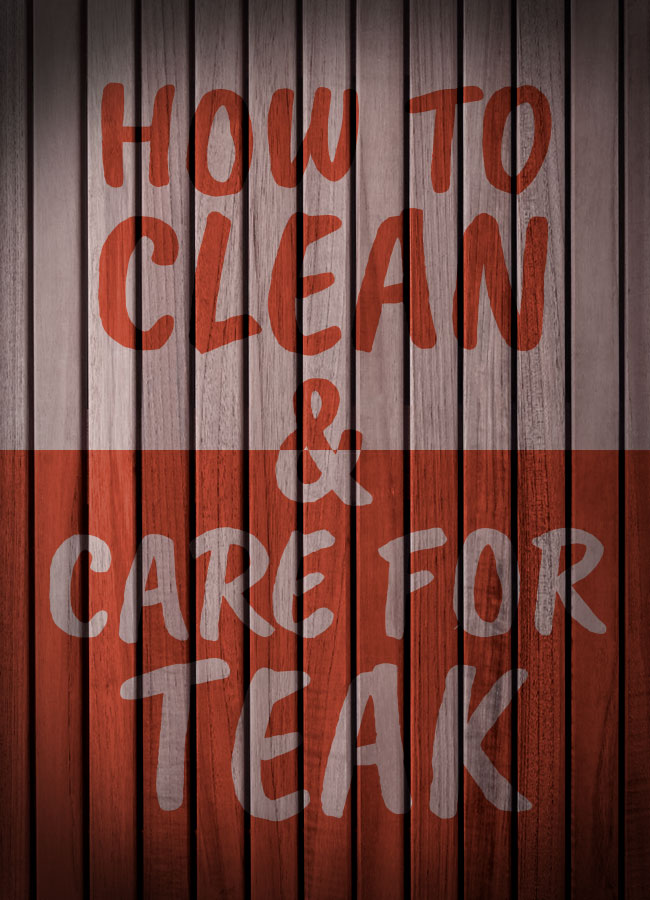 Learn How To Clean And Care For Your Teak Wood Shower Mat Bench