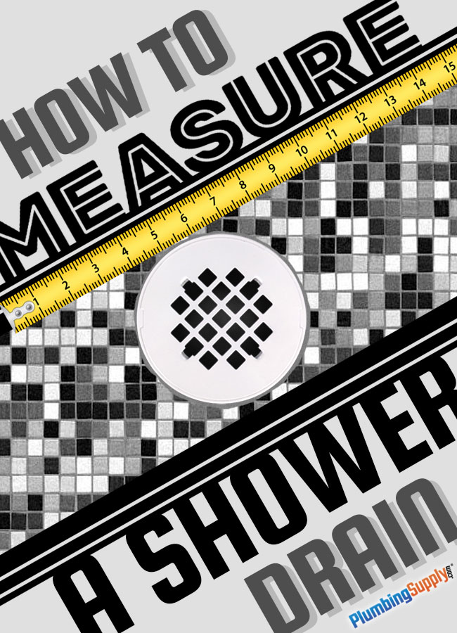 Learn the right way to measure your shower drain cover so you get the best fit the first time.