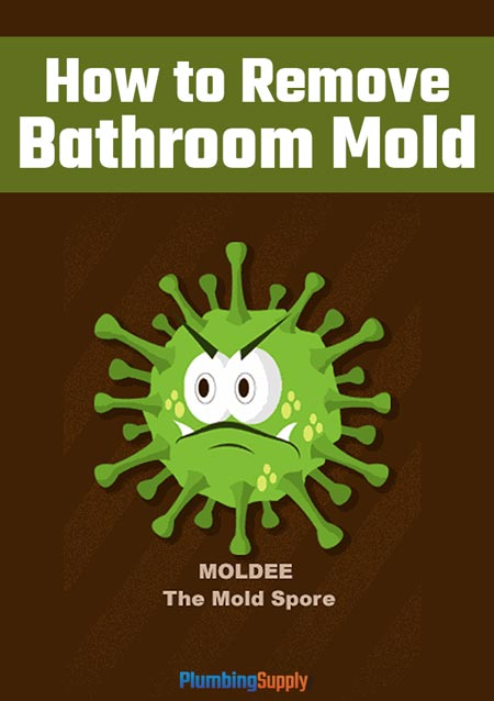 Learn how to get rid of mold in your bathroom using non-toxic, all-natural products.