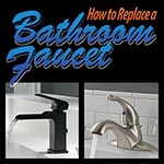 How to remove/install a lavatory faucet