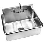 Surgeon scrub sink