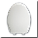 Soft, easy closing toilet seats