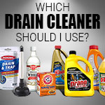Which drain cleaner to use