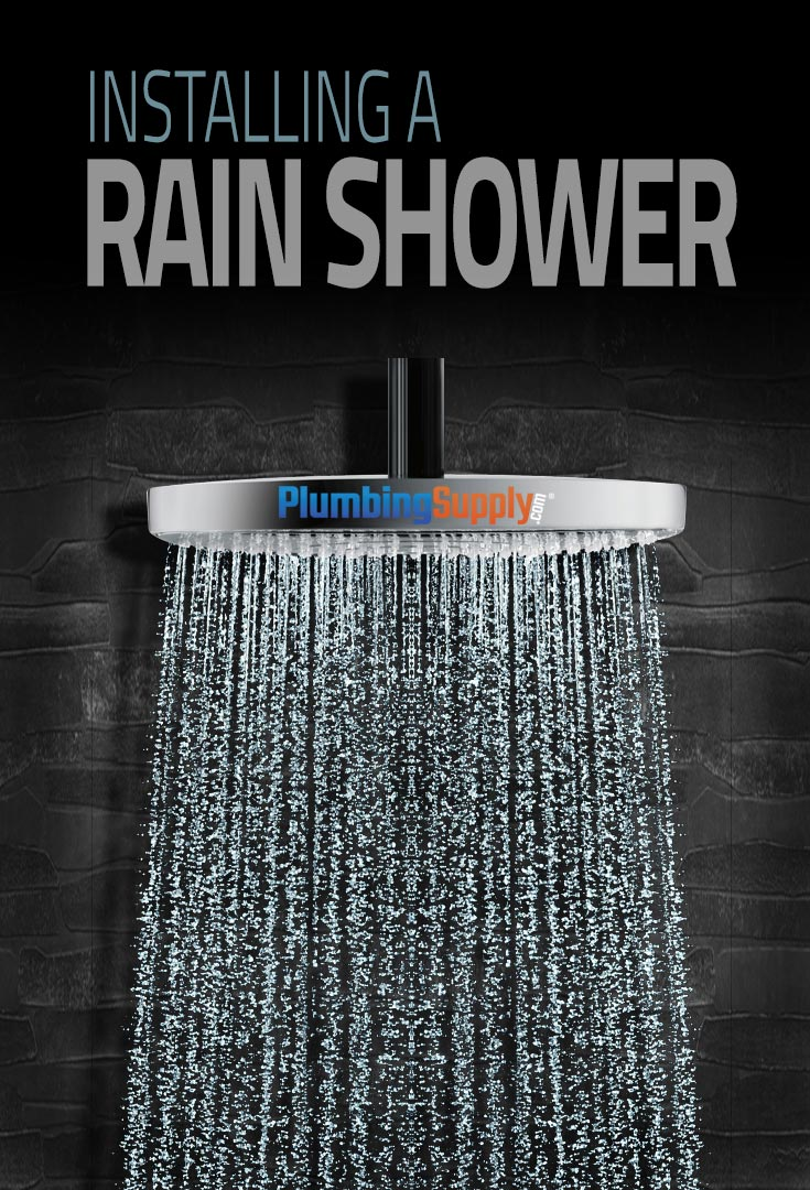 Inspired By Nature, Rain Showers Are A Popular Option For Any Shower Setup.  Learn