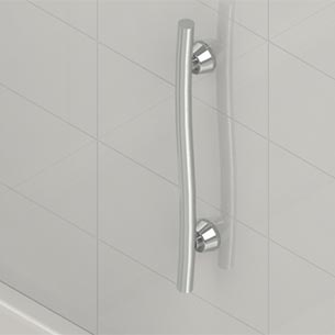 Grab Bar Installation Example. Installed Example