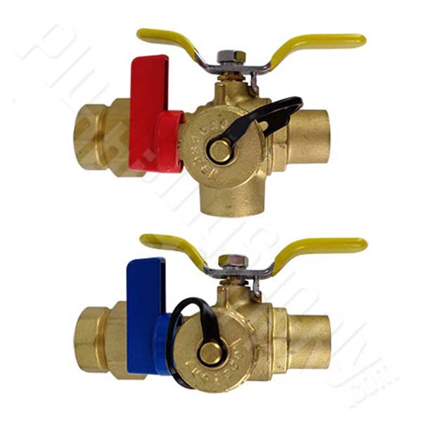 Isolation valve set
