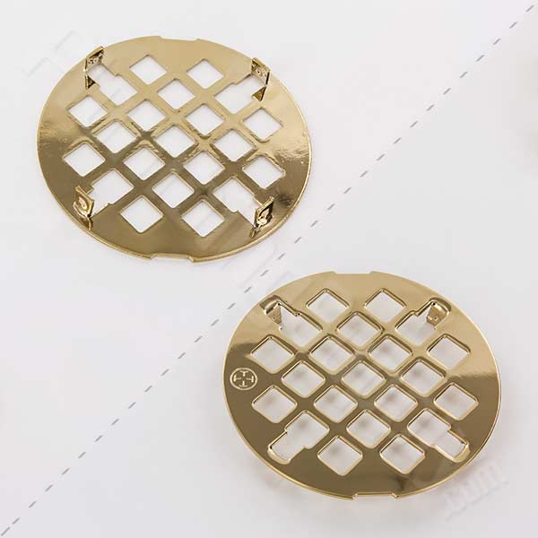 Jaclo polished brass finish drain cover