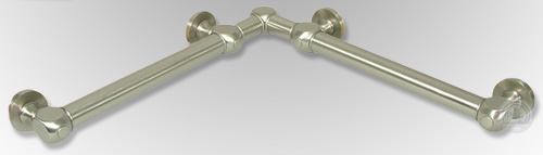 Luxury Bathroom Grab Rails luxury residential grab bars - stylish - ada compliant