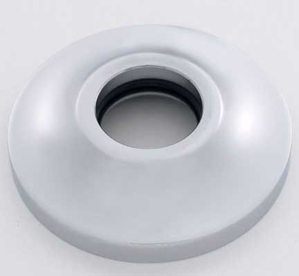 Heavy duty escutcheon, shown in satin chrome