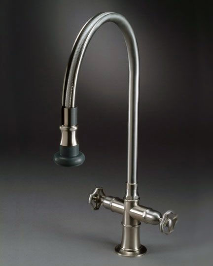 Steam Valve Original faucets with pull-off swivel spout