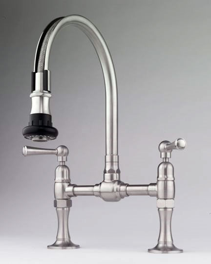 Steam Valve Original Deck Mount Bridge Faucets