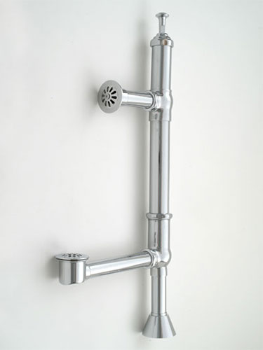J 380 Tub Drain Exposed Drains for Vintage Clawfoot Bathtubs