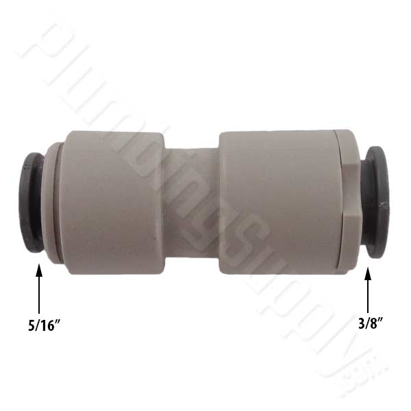 John guest small tubing quick connect fittings and valves