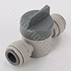 Acetal Short Handle Shut-Off Valve