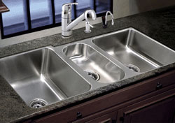 triple bowl kitchen sink - Bowl Kitchen Sink
