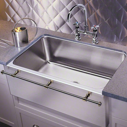 these single bowl kitchen sinks feature extra wide sink perfect for ...