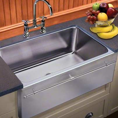 just mfg stainless steel apron front single bowl undermount kitchen sink with optional towel bar. beautiful ideas. Home Design Ideas