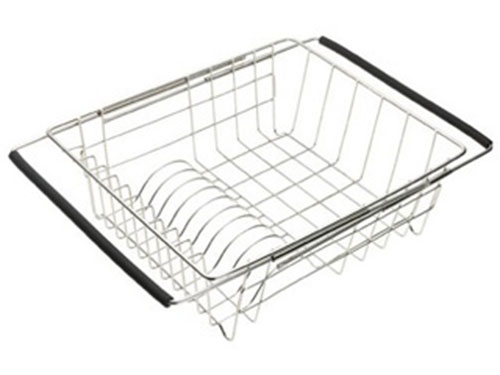 Adjustable dish rack
