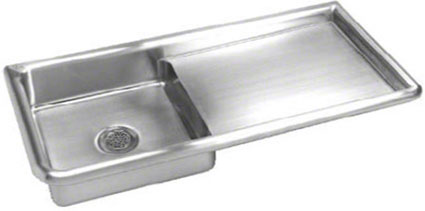 special service sink with drainboard