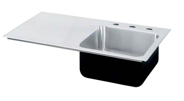 High Quality Image Of Left Side Drainboard Stainless Steel Sink