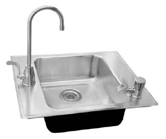 Ada Compliant Stainless Steel Classroom Sinks
