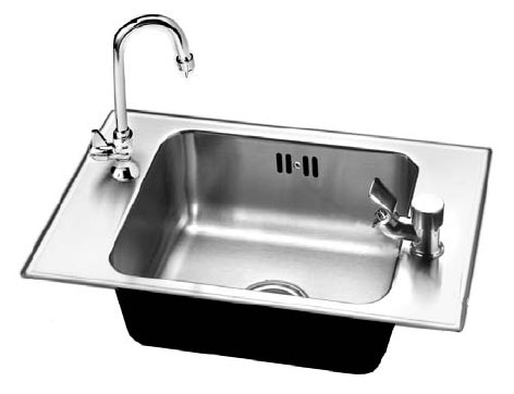Ordinaire 18 Gauge Stainless Steel Sink For Strength And Durability! Just Classroom  Sink